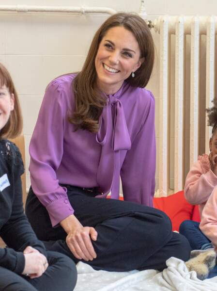 Même avec sa blouse à l'envers, la duchesse de Sussex était resplendissante