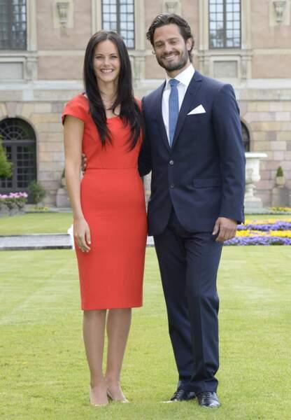 Le prince Carl Philip et Sofia