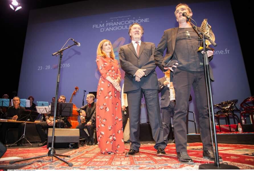 Julie Gayet à la cérémonie de clôture du Festival du film Francophone d'Angouleme
