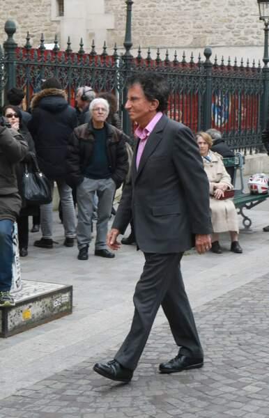 Jack Lang à l'hommage à Jacques Higelin au Cirque d'Hiver à Paris le 12 avril 2018