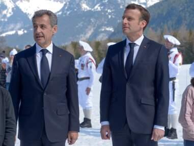 PHOTOS - Nicolas Sarkozy a écouté sa femme Carla Bruni : face à Emmanuel Macron, il porte une barbe de 3 jours