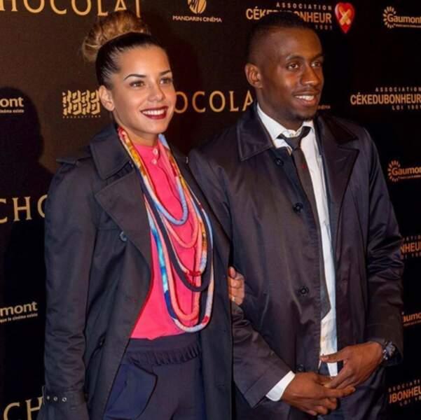 Blaise Matuidi et Isabelle