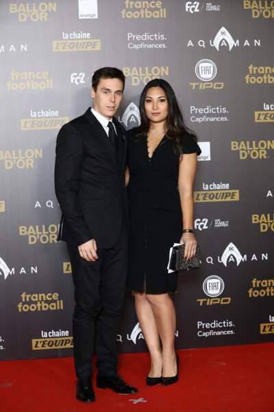 Louis Ducruet était présent au Grand Palais le 3 décembre pour la cérémonie du Ballon d'Or