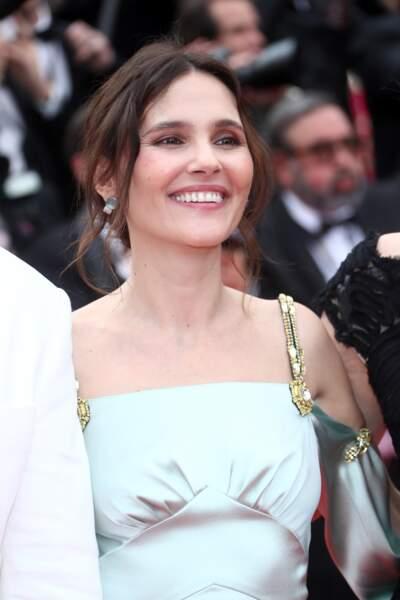 Virginie Ledoyen, le 8 mai 2018 pour la cérémonie d'ouverture du festival de Cannes