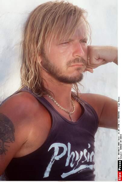 En juillet 1990, lors d'une séance photo en Grèce