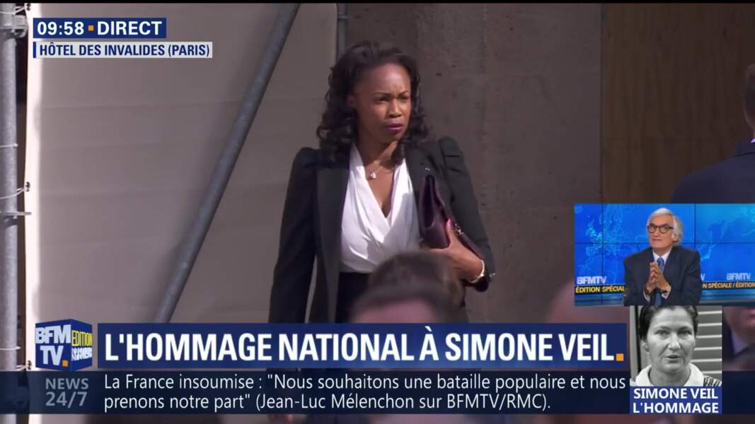 Obsèques de Simone Veil : la ministre Laura Flessel
