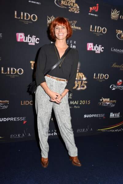 À la finale de Top Model Belgium au Lido en mai 2015