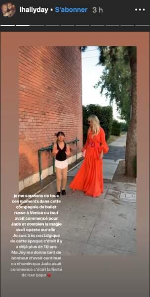 Laeticia Hallyday rappelle à quel point Johnny Hallyday était fier des talents de ses filles