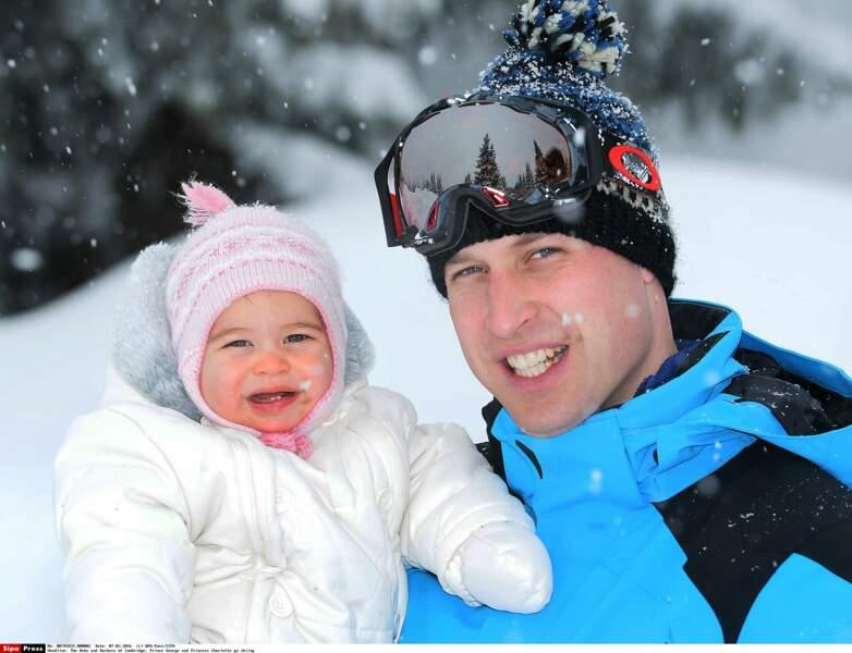 Entre la princesse Charlotte et son papa le prince William, difficile de ne pas trouver quelques traits communs