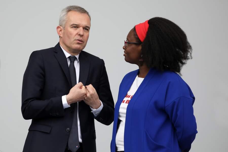 Sibeth Ndiaye a misé sur un look aux couleurs de la France