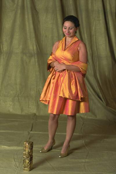 """Ariane Ascaride remporte le César de la meilleure actrice en 1998 pour """"Marius et Jeannette"""""""