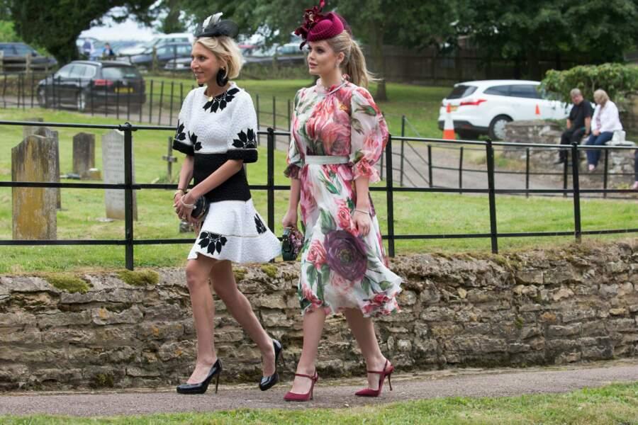 Lady Kitty Spencer, la nièce de Diana, sublime en Dolce & Gabbana était aussi de la partie