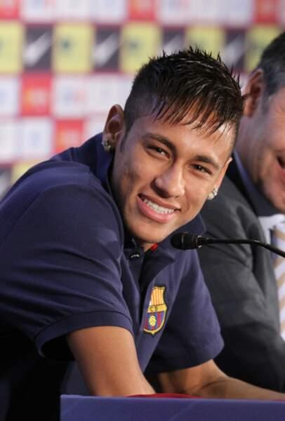 A son arrivée au FC Barcelone en 2013