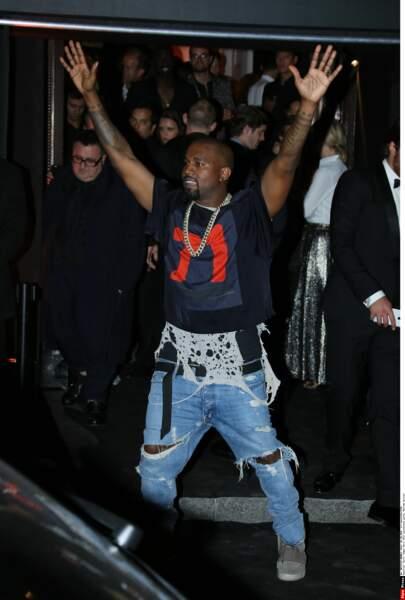 Kanye West, homme le plus stylé de 2015
