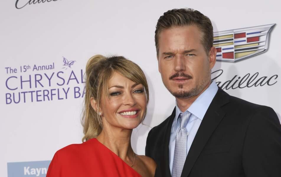Eric Dane et sa femme Rebecca Gayheart à Los Angeles le 11 juin 2016