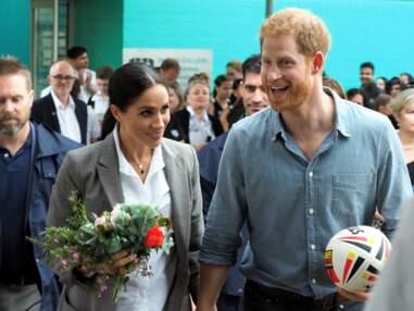 Meghan Markle et le prince Harry, très tactiles en Australie