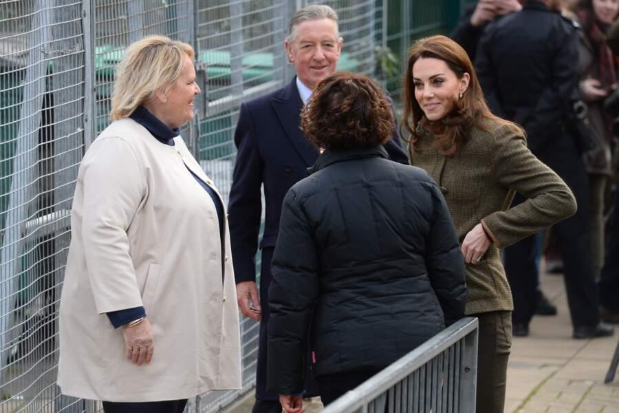 Il s'agissait du premier engagement officiel de la duchesse pour l'année 2019