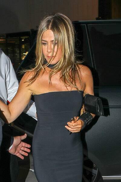 Jennifer Aniston en robe noire était présente