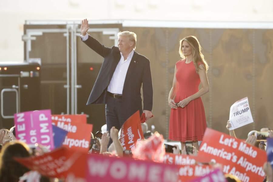 Melania Trump à Melbourne