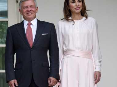 Photos - Melania Trump, Brigitte Macron, Rania de Jordanie, Letizia d'Espagne : le match des premières dames en rose