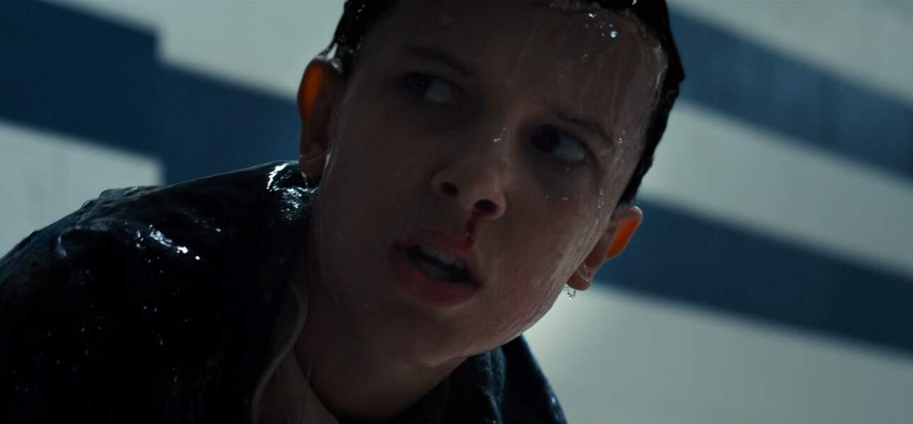 """Millie Bobby Brown, alias """"Eleven"""" dans la série """"Strangers Things"""""""