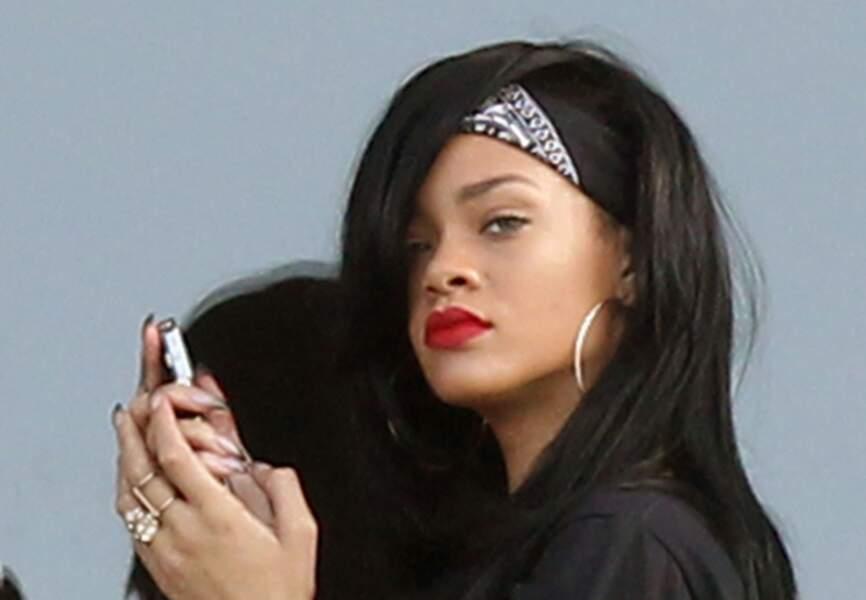 Rihanna, classique rock