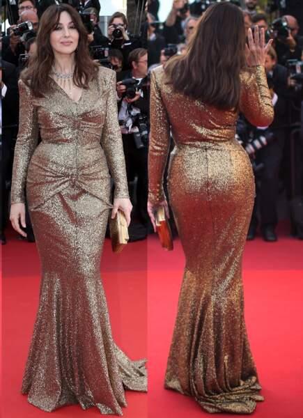 Les fesses 100% glamour de Monica Bellucci