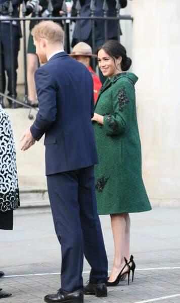 Meghan Markle était radieuse aux côtés du prince Harry