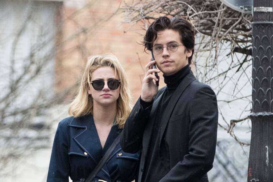 Cole Sprouse et Lili Reinhart à Paris en 2018