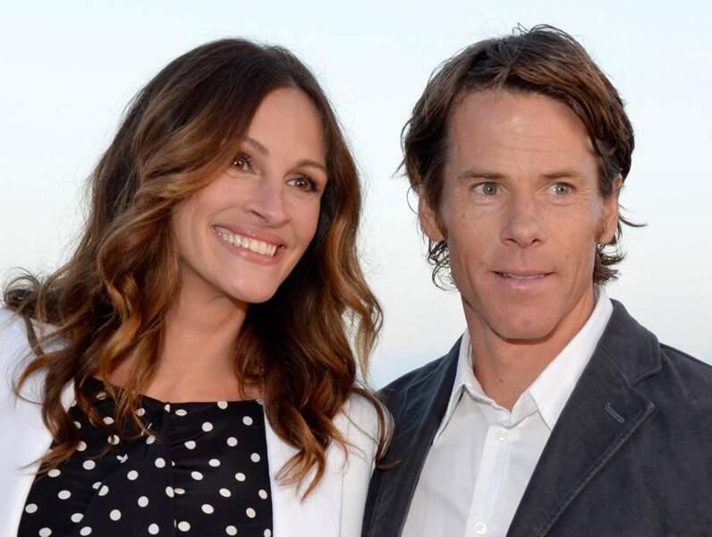 Avec son mari Daniel Moder à Santa Monica en 2012