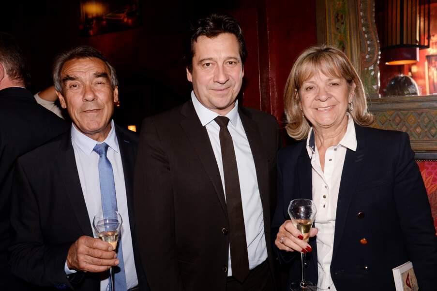Laurent Gerra et Jean-Christian et Nicole Gerra, ses parents
