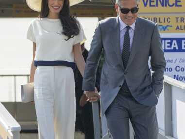 PHOTOS - Amal et George Clooney enfin parents : retour sur leur histoire d'amour