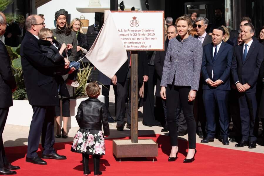 Un bonheur enfantin qui a réjouit l'épouse d'Albert II de Monaco