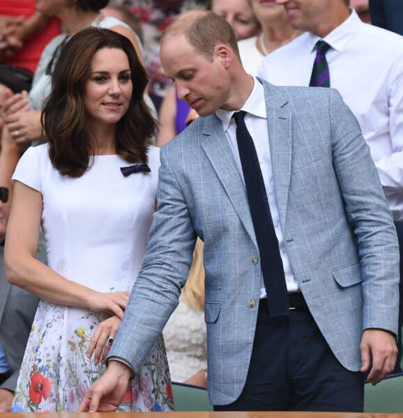 Le duc et la duchesse de Cambridge ont assisté à la finale du tournoi