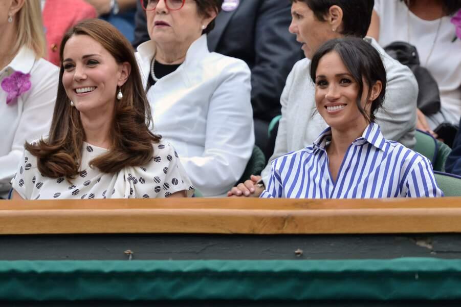 Kate Middleton et Meghan Markle étaient très complices...