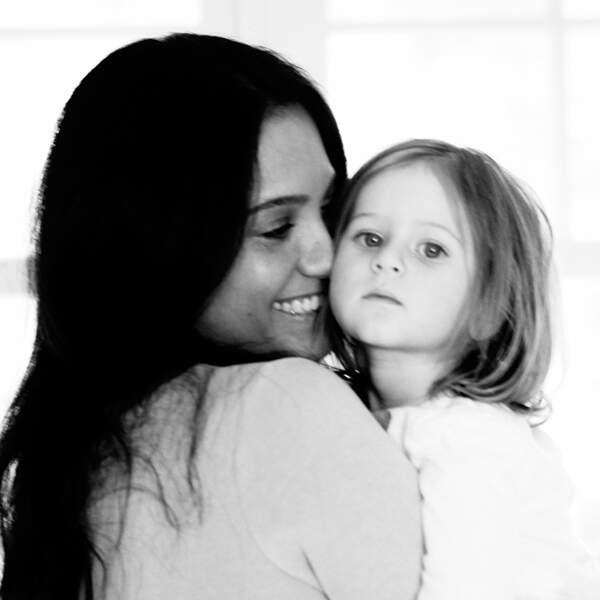 Emma Heming-Willis et l'une de ses filles