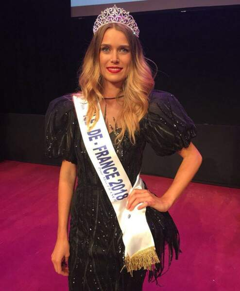 Alice Quérette, 24 ans, a été sacrée Miss Ile-de-France et tentera de devenir Miss France 2019