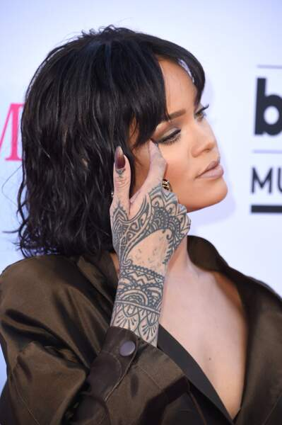 La main Bollywood de Rihanna