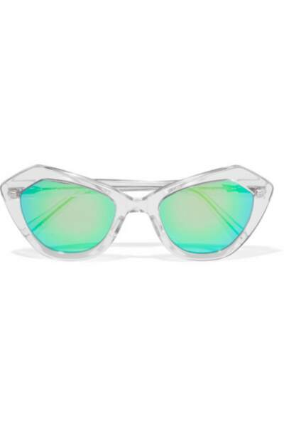 Lunettes de soleil effet miroir Prism - 153€