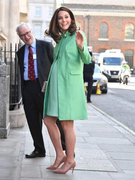 Kate Middleton, 1 mois avant d'accoucher de son 3eme enfant