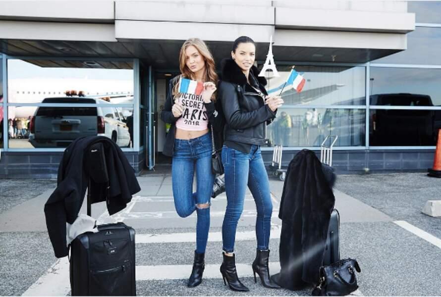 Josephine Skiver et Adriana Lima