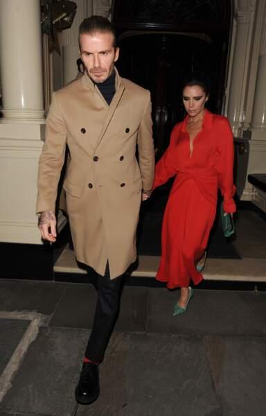 David et Victoria Beckham.