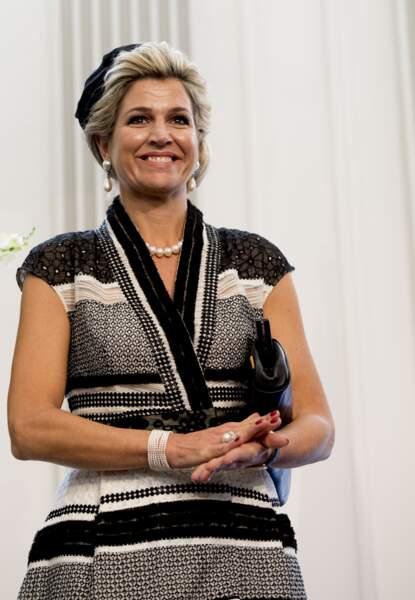 La reine Maxima rencontre la communauté hollandaise à la mairie de Brisbane, le 4 novembre 2016