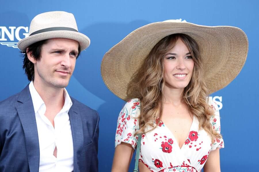 Elodie Fontan et son compagnon l'acteur Philippe Lachau, très assortis