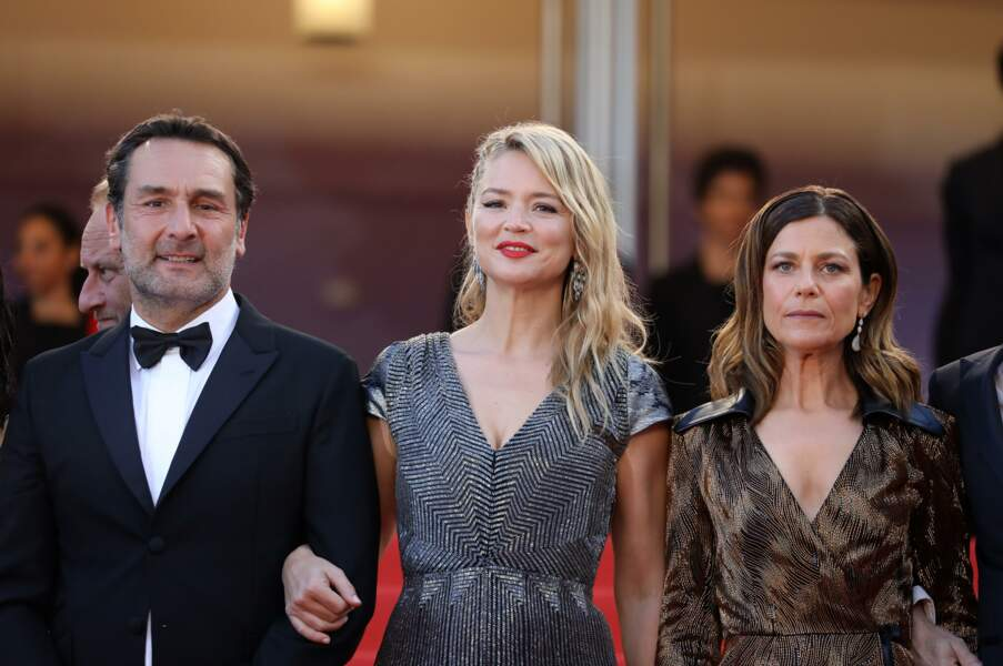 Gilles Lellouche, Virginie Efira et Marina Fois