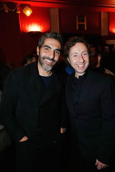 Ary Abittan et Stéphane Bern