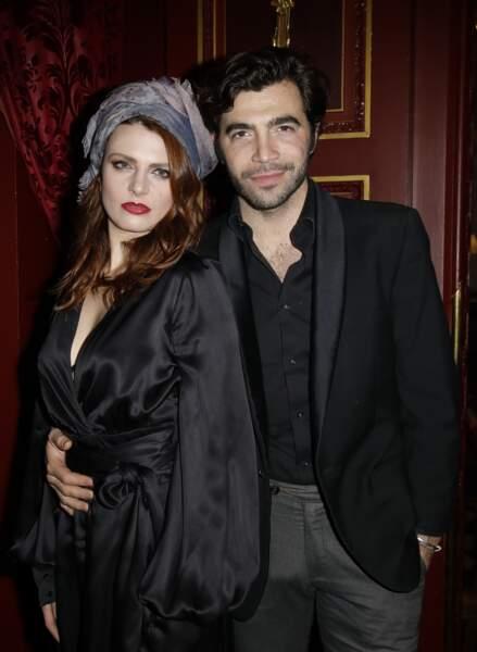 Elodie Frégé et Gian Marco Tavani semblent filer le parfait amour