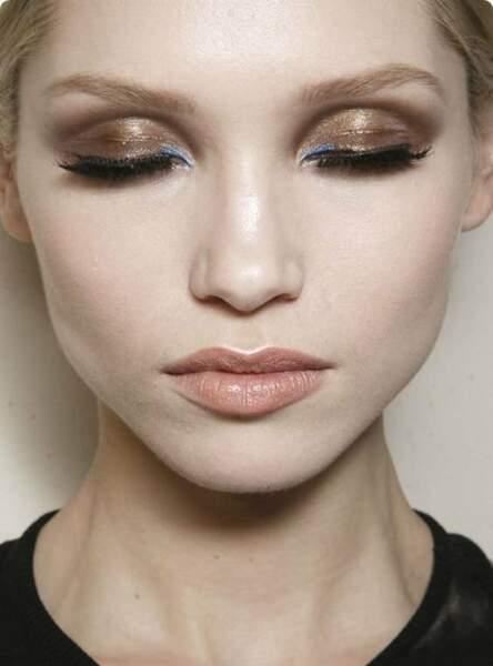 Un make-up cuivre