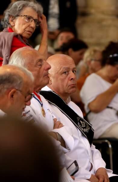 Thierry Marx aux obsèques de Joël Robuchon à la cathédrale Saint-Pierre de Poitiers le 17 août