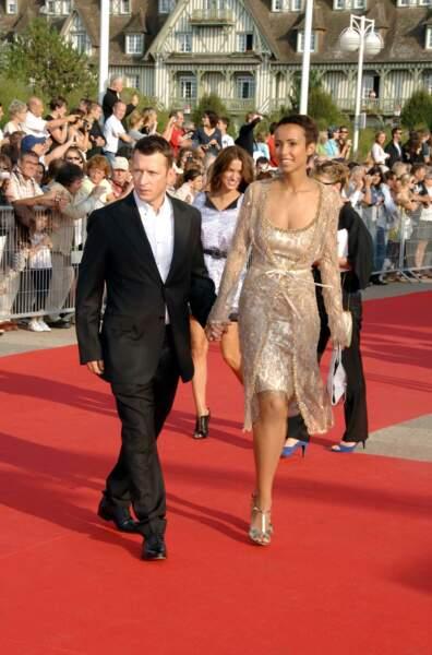 Sonia Rolland et Christophe Rocancourt à Deauville en septembre 2007